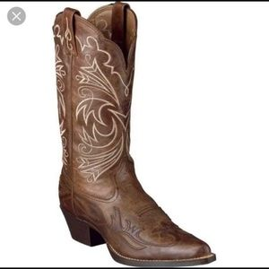 Ariat Heritage Western Cowgirl Boot Brown Size 8